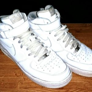NIKE Air Force 1 High Top (Size 12) Men's Shoes